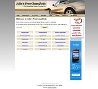 Julie's Free Classifieds