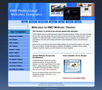 RAM Website Design's Templates