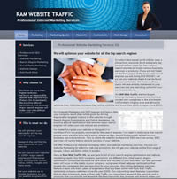 RAM Web Traffic-Professional SEO Services