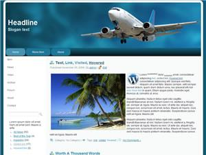 Wordpress Theme 54