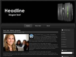 Wordpress Theme 55