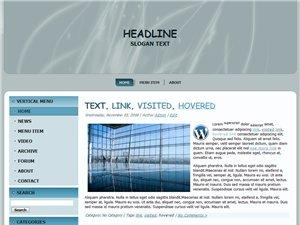 Wordpress Theme 11