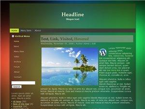 Wordpress Theme 14