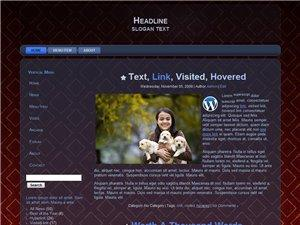 Wordpress Theme 18