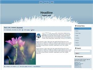 Wordpress Theme 34