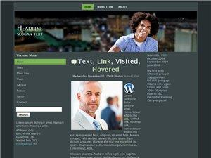 Wordpress Theme 35