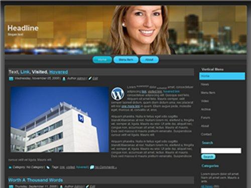 Wordpress Theme 08