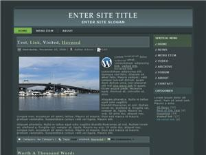 Wordpress Theme 01