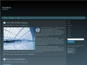 Wordpress Theme 06