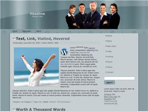 Wordpress Theme 07